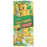 Печенье Lotte Koalas March Chocolate с шоколадной начинкой 37 г.